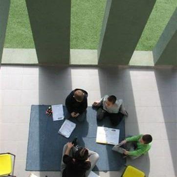 מבנה חדשני של בית ספר
